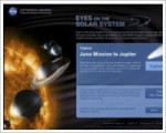 Eyes on the Solar System Projection Globe