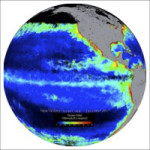 Ocean Color on Projection Sphere
